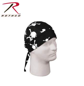 Skull & Crossbones Headwrap