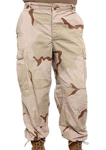 Tri Color BDU Cargo Pants - Vintage