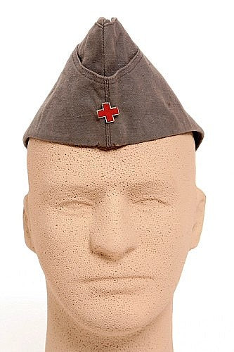 East German Garrison Cap Red Cross