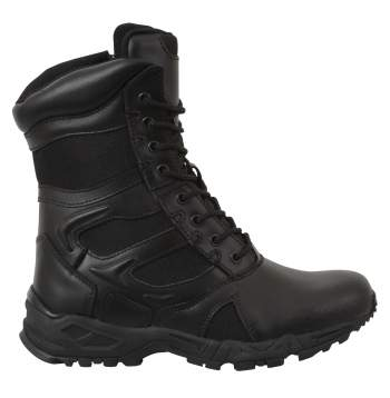 Forced Entry Deployment Boot With Side Zipper