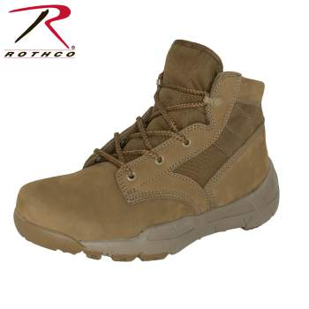 "6"" V-Max Lightweight Tactical Boot - AR 670-1 Coyote Brown"