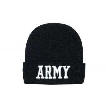 Deluxe Military Embroidered Watch Cap