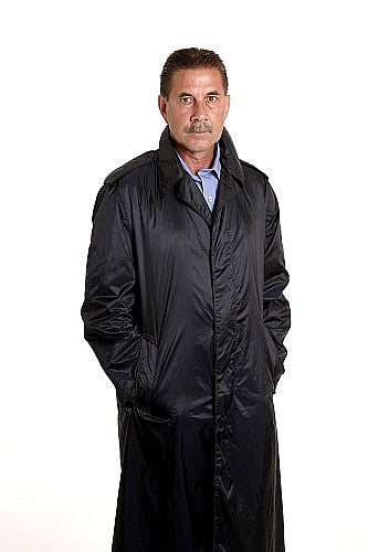 Nylon Raincoat,Mens
