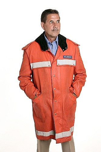 Firemens Search and Rescue Coat - Vintage - US