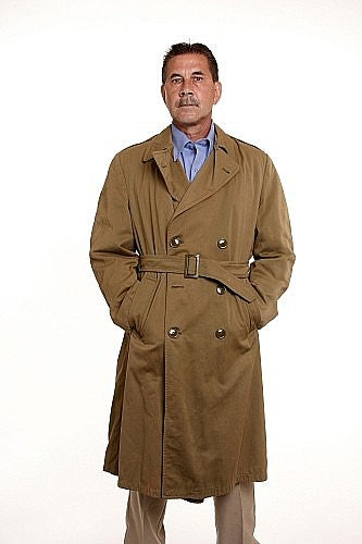 Raincoat Mens Gabardine CF Vintage 1960