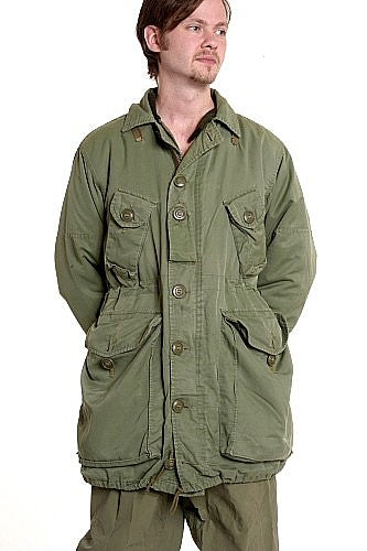 Parka Extreme Cold Weather Combat