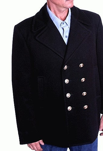 Pea Coat-USN Original-Larger Sizes