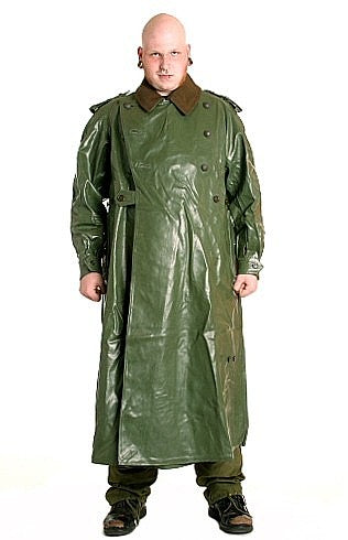 German Chemical Warfare Trenchcoat