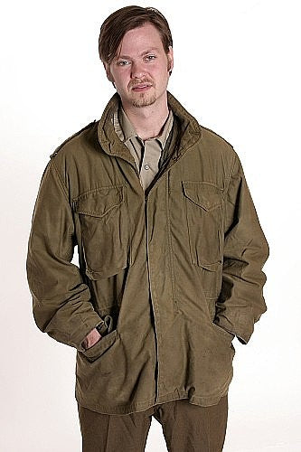 Vintage US Army OD M65 Field Coat,  WITH QUILTED LINER