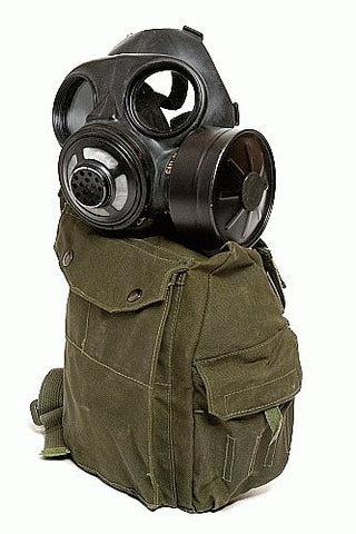 Gas Mask Survival Kit-Complete