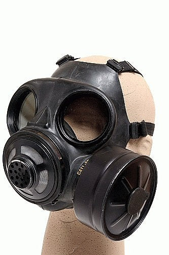 Canadian Gas Mask C-2 Complete