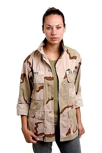 Tri-Color Desert Camo BDU Shirt