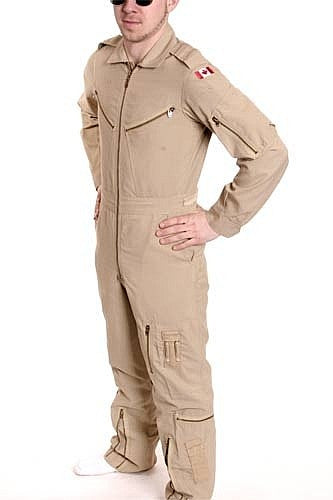 Canadian Airforce Flight Suit,Tan - VINTAGE