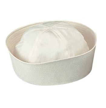 G.I. Type Navy White Sailor Hat