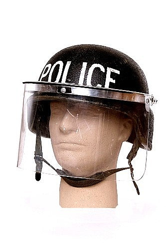 Police Riot Helmet Face Shield