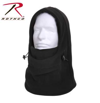 3-In-1 Adjustable Double Layer Fleece Balaclava