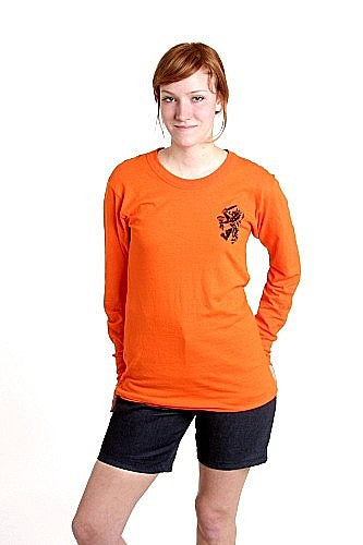 Long Sleeve Soccer Shirt - Vintage - Dutch