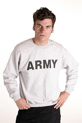 Army Sweatshirt  Cotton PT Top