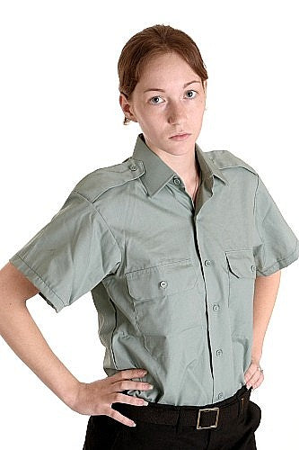 Women's Work-Dress Officers Shirt Short Sleeves - Canada