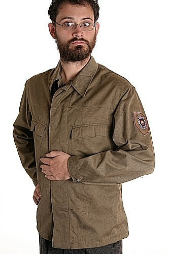 East German Civil Defense Uniform Shirt