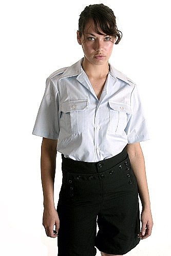 Women's  Air Force Officers Short Sleeve Shirt