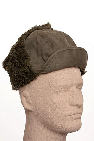 Trooper Hat Winter Issue Olive