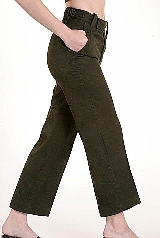 Women's Worsted Wool Trousers - England