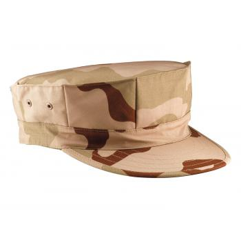 Marine Corps Poly/Cotton Rip-Stop Cap w/out Emblem
