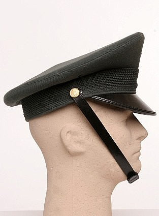 US Army Service Dress Cap with chin strap