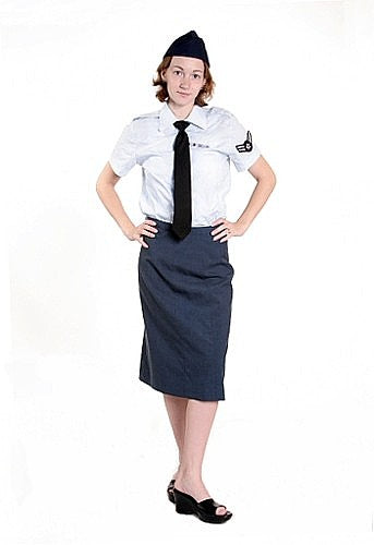US Airforce Dress Costume w/skirt