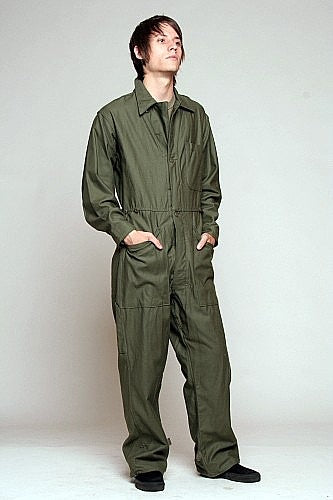 US mechanics Winter coveralls
