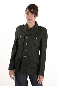 Women's Vintage 1951 British Wool Tunic - England