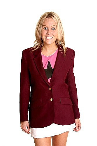 Color Guards Blazer Burgundy