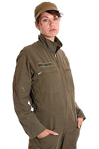 W   French Coverall Olive Drab