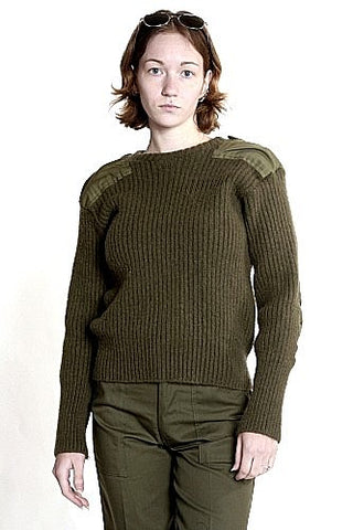 W-Wooly Pully British Commando Sweater