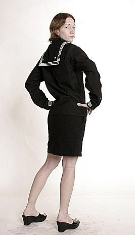 Woman US Navy Sailor  Suit