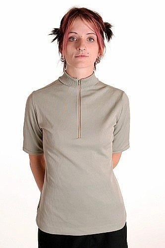 Women's Lime Turtleneck Jumper - Vintage