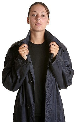 W  Raincoat Air Force Lightweight 3/4 Length