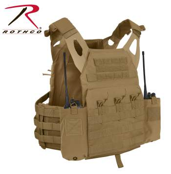 LACV (Lightweight Armor Carrier Vest) Side Radio Pouch Set