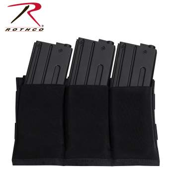 Lightweight 3Mag Elastic Retention Pouch