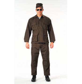 Rip-Stop SWAT Cloth BDU Shirt (65% Poly / 35% Cotton)