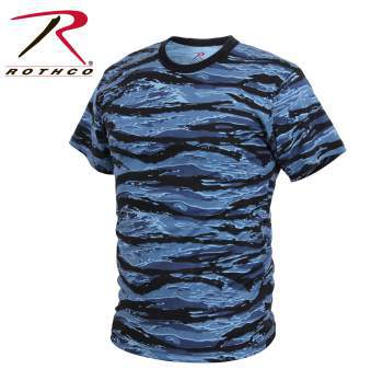 Tiger Stripe Camo T-Shirts