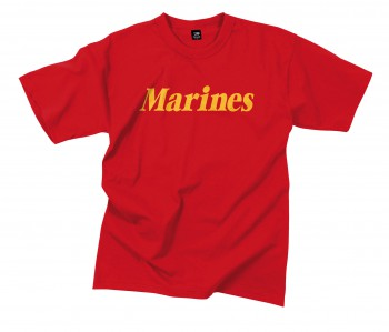Marines Printed T-Shirt