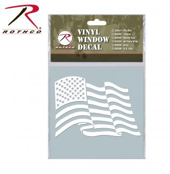 Military Vinyl Window Decal