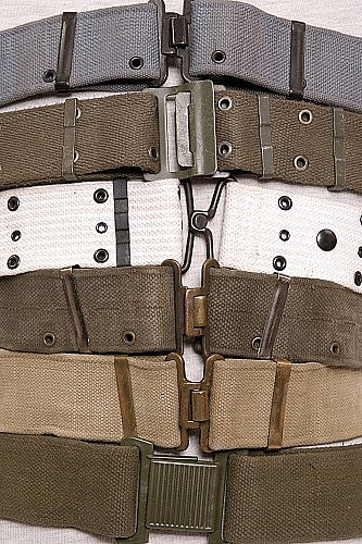 3 Web Pistol Belts - Grab Bag