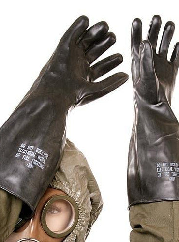 Military Chemical Gloves - US Unissued