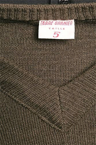 French Wool Sweater