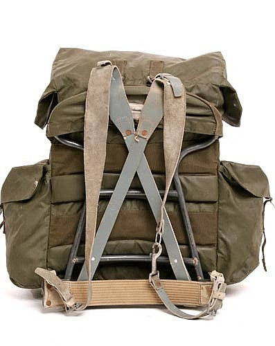 British Bergen Pack w/Frame