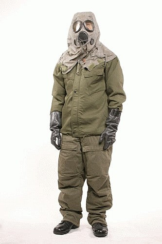 U.S. Army Chemical Protective Suit, New