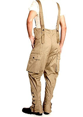 Motorcycle Dispatch Rider Pants w/ Suspenders